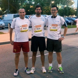 Business Run Team Ultimate Running Heroes