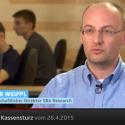 Edgar Weippl im Schweizer Fernsehen