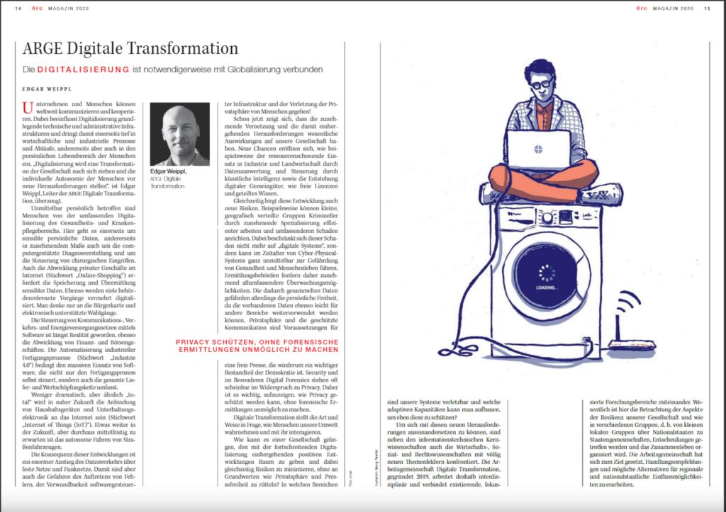 ÖFG Magazin_Dez 2020_Article_ARGE Digitale Transformation